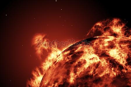 gran, bola, de, fuego, del, sol - 13749933