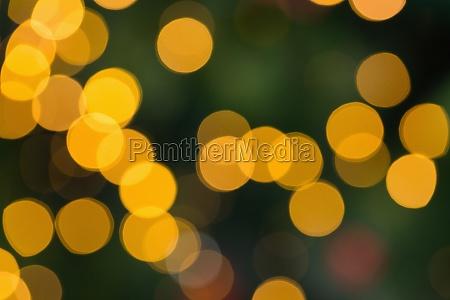 fiesta vacaciones verde luces celebracion borroso
