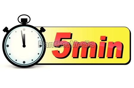 esperar espera cinco reloj fecha minutos