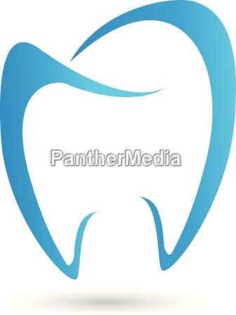 diente logotipo logotipo de dentista