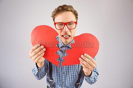 liberado moda romantico masculino retrato triste