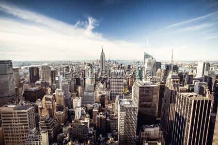 vista superior de la ciudad de