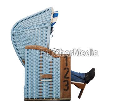 silla de playa con patas laterales