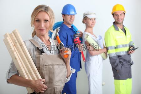 construir disenyo negocios trabajo mano de