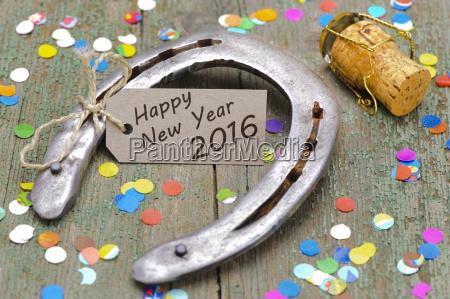 anyo nuevo 2016 con las herraduras