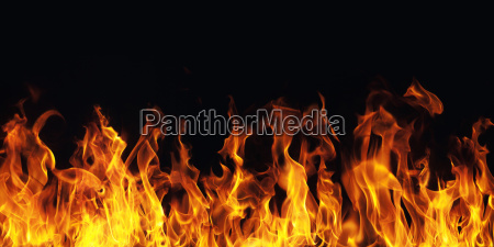 la quema de la llama del