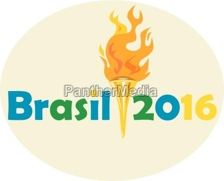 brasil 2016 juegos de verano antorcha