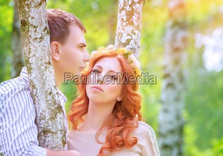 parque romantico verano veraniego casado encantado