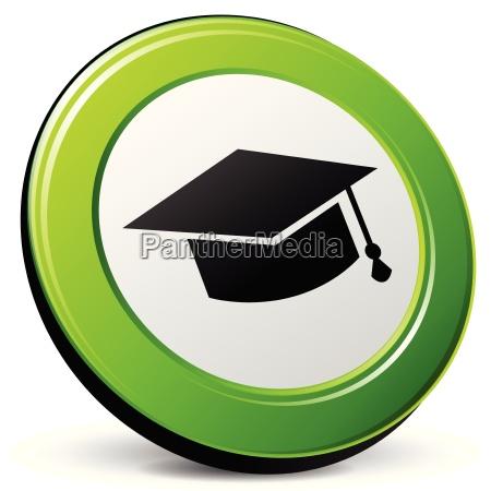 educacion icono 3d