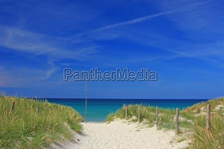 playa en bretanya francia
