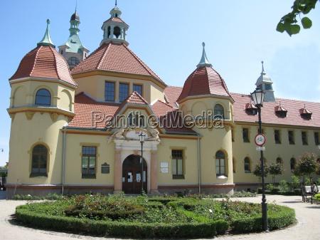 arquitectura del balneario en sopot zoppot