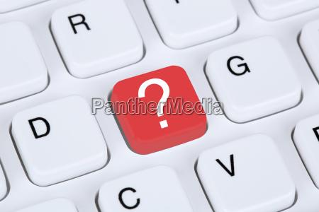 teclado de ordenador con icono de