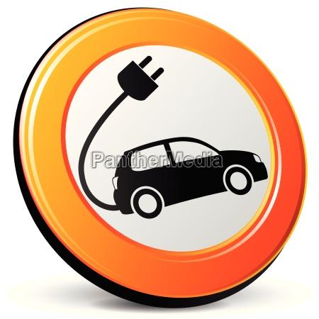 icono del coche electrico