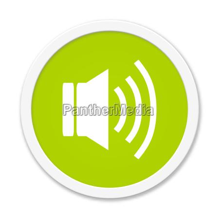 round green button audio
