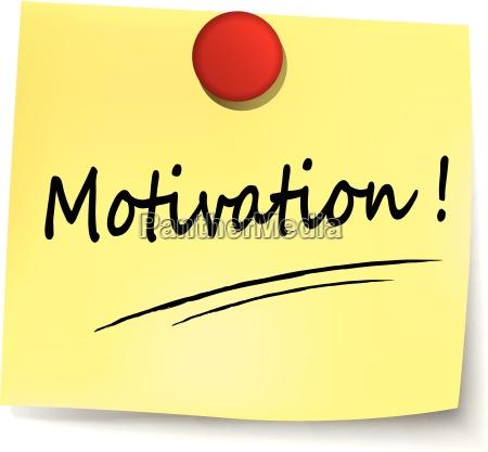 nota de motivacion