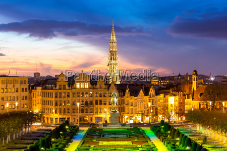 bruselas cityscape belgica