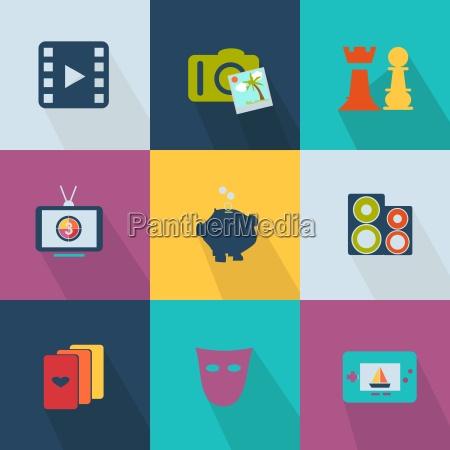 icono del negocio estilo web 2