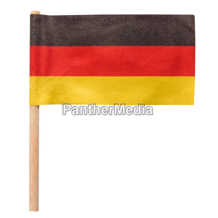 germany flag isolated