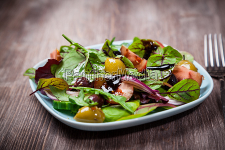 mixed low calorie salad