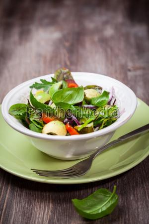 spring mixed salad