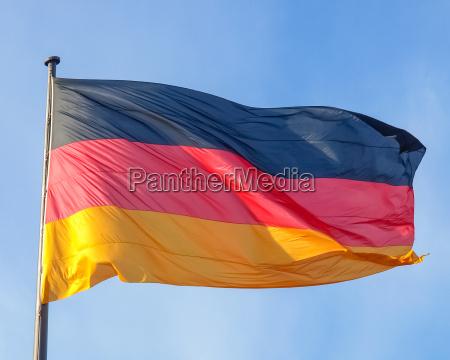 caucasico europeo europa aleman banderas pais