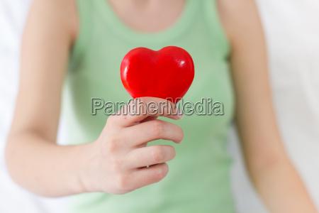 soporte de red heart shape salud