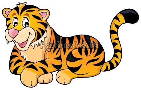 imagen del tema del tigre 1