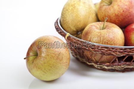 vitamina jardin fruta manzanas manzana dieta