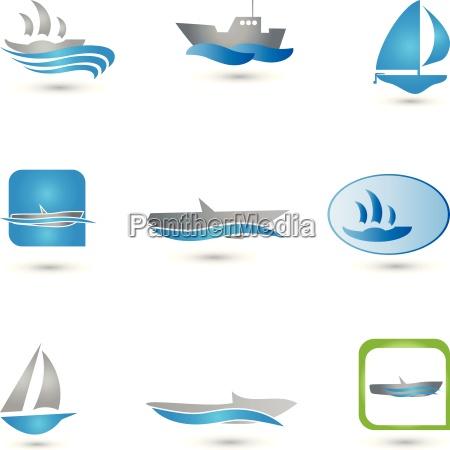 barcos coleccion logos barcos
