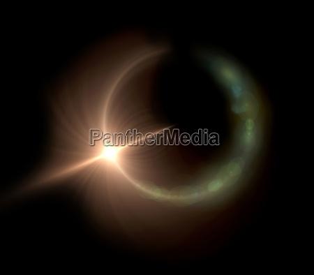 anillo concierto color espacio cosmos ciencia