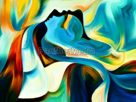 conceptual sacred hues
