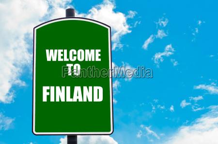 bienvenidos a finlandia