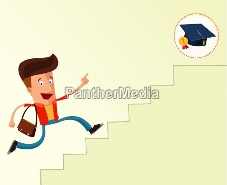 a la graduacion