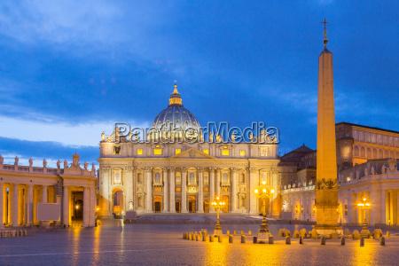 basilica de san pedro en el