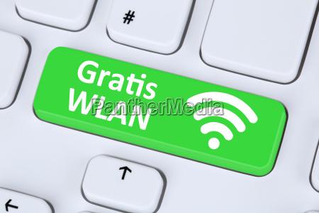 wi fi gratuito o conexion wifi