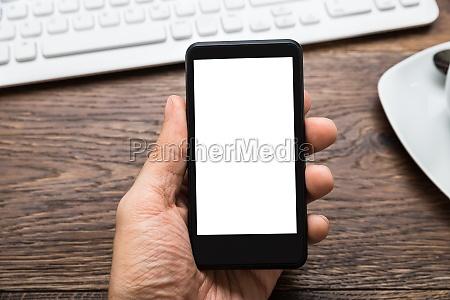 telefono personas gente hombre mano teclado