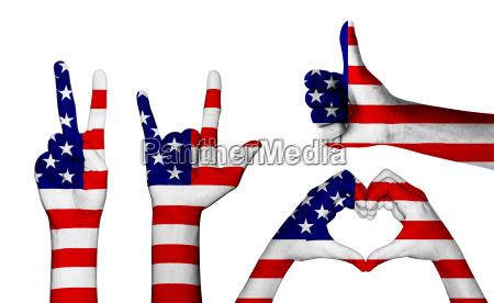 americano eeuu america bandera amor amatorio
