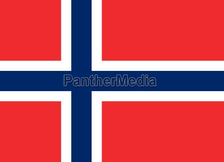 bandera de noruega horizontal