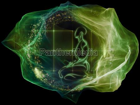 resplandor de la mente de particulas