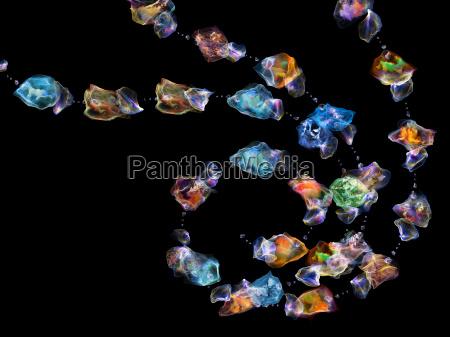 abstraccion de joyas