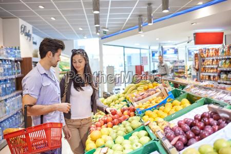 pares de las compras en un
