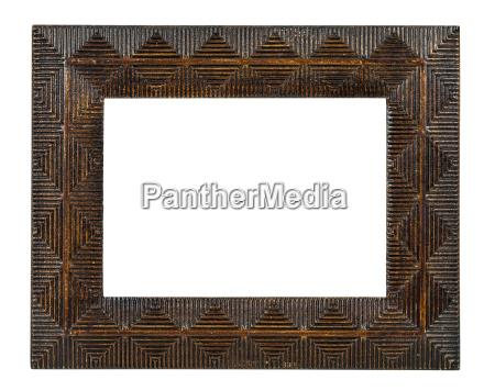 bronce decorativo marco vacio