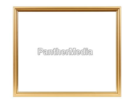 marco vacio decorativos de oro