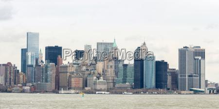 panorama de la ciudad de nueva
