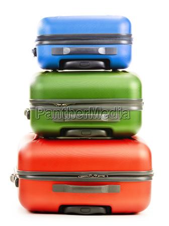 el equipaje consta de tres maletas