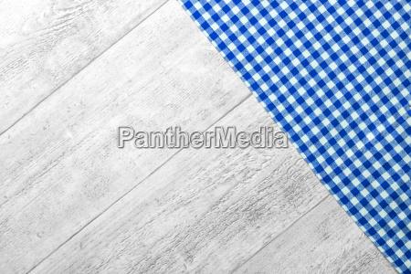 checkered fabric blue