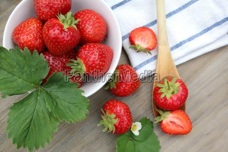 frutas fruta vista en planta cuchara