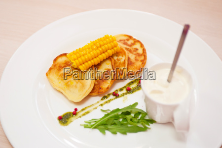 panqueques de maiz