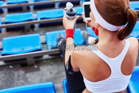 sportive woman