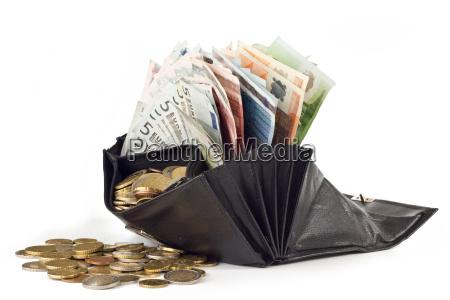 riqueza punta salario bolso talega dinero